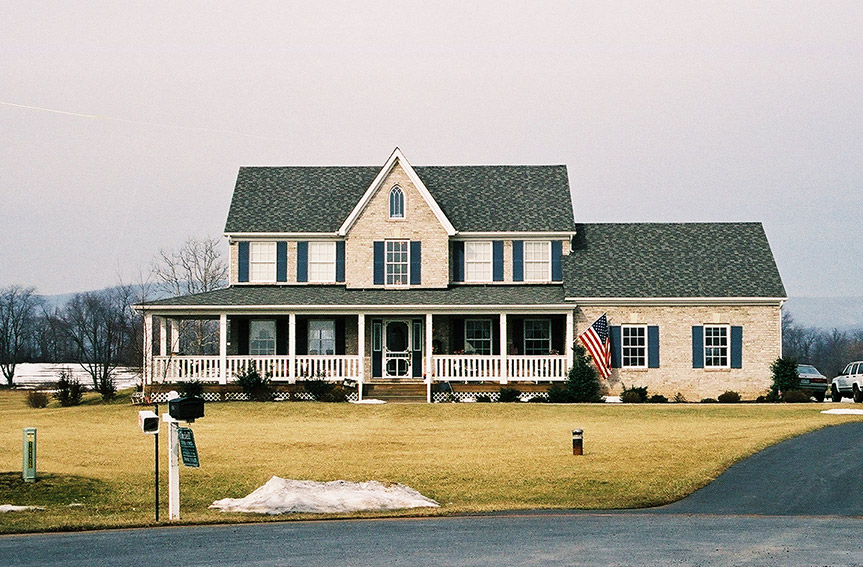 Traditional Custom Home Exterior and Interior- Builders in Frederick and Montgomery County MD