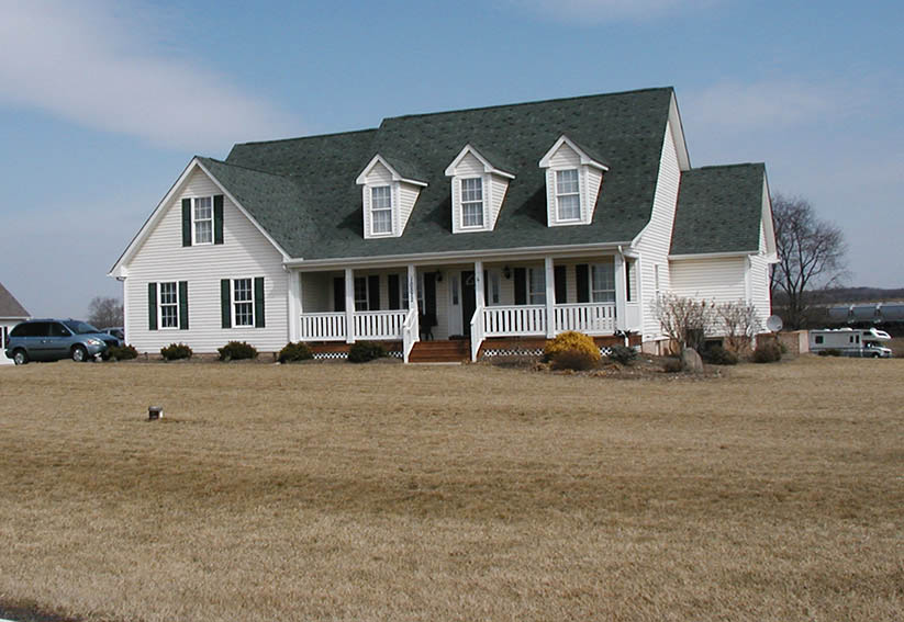 Custom Cape Home- Builders for Remodeling- Frederick County MD