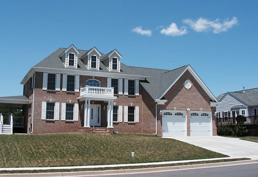 Interior and Exterior View of Custom Home- Builders for Montgomery Count MD